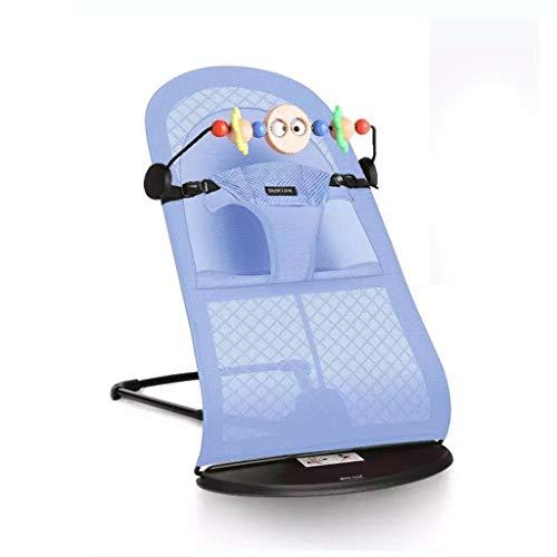 Schaukelstuhl Baby, Faltbare Kissen für Winter und Sommer können die multifunktionale Wiege reinigen (Farbe : D(Toy Rack)) - Eisen-baby-wiege