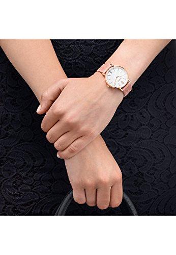 CHRIST times Damen-Armbanduhr Analog Quarz One Size, weiß, rosa -