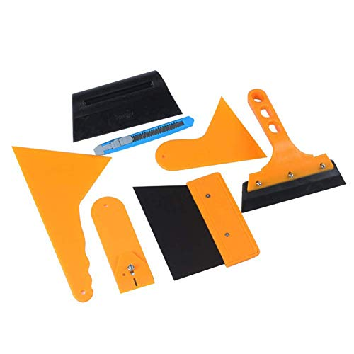 Kentop Profi Rakel Set Folien Rakel Set Tönungsfolie Sonnenschutz Folie Montage Abziehen Werkzeug für Auto Folie Car Wrapping -