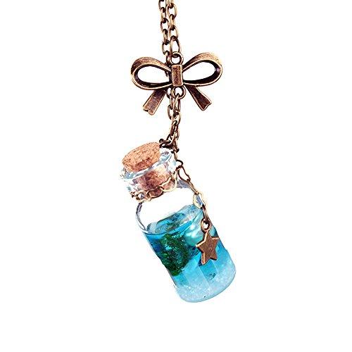 Einzigartige Halskette. Longra Halskette für Wasserflasche, Seewasser-Muschel - Weiße Handtücher Türkische