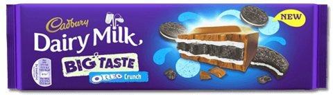 Cadbury Dairy Milk Oreo Chocolate 300G