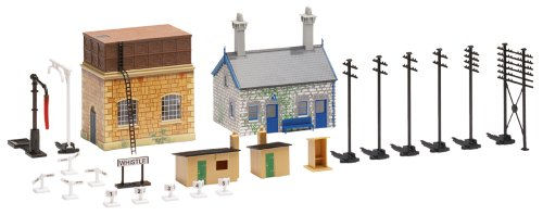 Hornby - R8228 - Extension Gare/Bâtiment Trakmat Building Pack 2