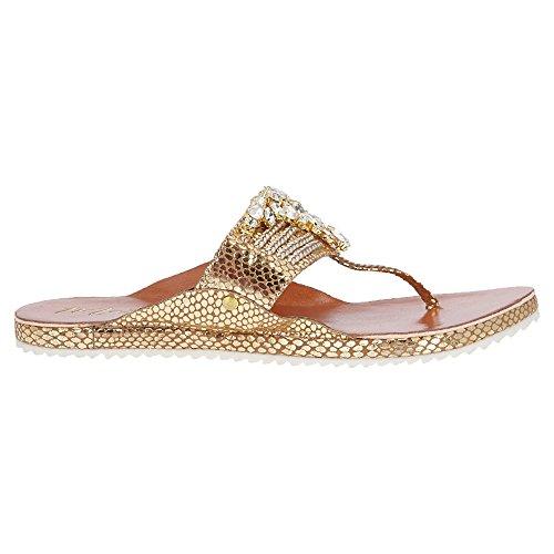 Matisse Raja Cuir Tongs gold