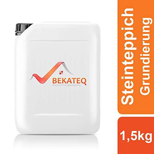 BEKATEQ BK-620EP Steinteppich Grundierung, 1,5kg farblos, 2K Epoxidharz Tiefengrund Natursteinteppich