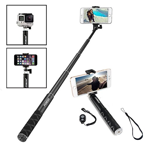 selfie stick foneso ultra compact durable selfie monopod for iphone 6s 6s plu ebay. Black Bedroom Furniture Sets. Home Design Ideas
