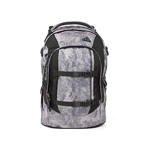 satch Pack ergonomischer Schulrucksack für Mädchen und Jungen - Rock Block
