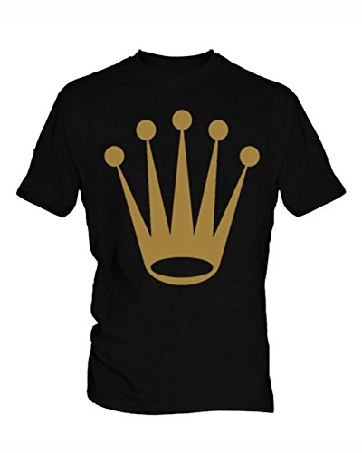 rolex-logo-2-herren-black-t-shirt