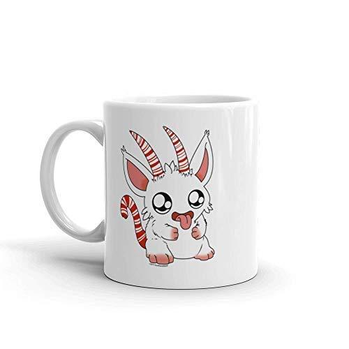 Candy Cane Mug, Christmas Mug, Coworker Gift, Peppermint Hot Chocolate, Coffee Mug, Cute Mug, Hot Chocolate Mug, Mug 11Oz (White Chocolate Peppermint)