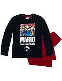 Super Mario Bros Garçon Pyjama 2016 Collection - blanc