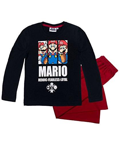 Super Mario Bros Ragazzi Pigiama - bianco - 116