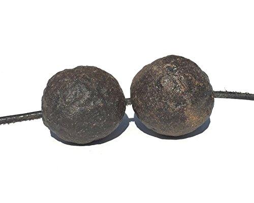 Moqui Marbles Anhänger Moquis Kette Shaman Stones mit Lederband U n i k a t | 08