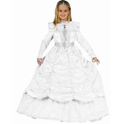 Dress Up America Luxuriöses königliches Braut-Kostüm des kleinen Mädchens