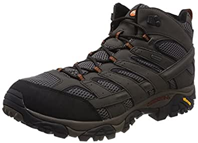 Merrell Moab 2 Mid GTX, Chaussures de Randonnée Hautes Homme, Gris (Beluga), 40 EU