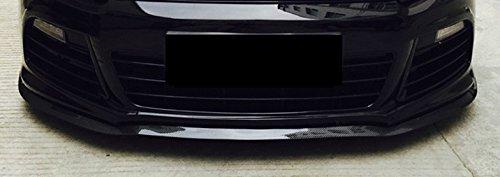 CAIXCAR Aleron delantero lateral Carbono universal para cualquier modelo del vehículo