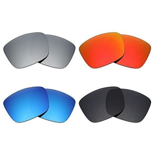 59162ffae3 mryok 4 pares de lentes de repuesto para Spy Optic Balboa – Gafas de sol  polarizadas