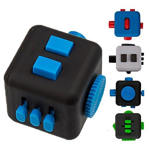 Bada Bing Finger Cube Anti Stress Würfel Fingerspiel Geschicklichkeitsspiel Motorik Spielzeug für Kinder und Erwachsene Geschenk