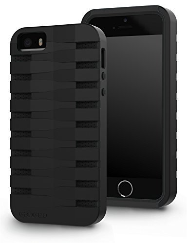 GADGEO iPhone SE / 5S / 5 Tough Heavy Duty Shock