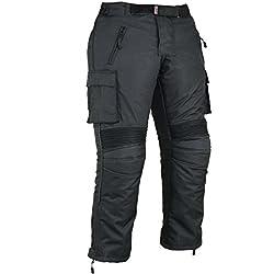 Pantalones de protección para Hombre de Moto Impermeable, W32 L30