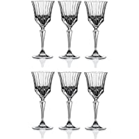 RCR Adagio Set 6 Calici Liquore 8 cl Crystal Glass