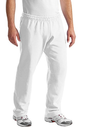 port-company-mens-perfect-lightweight-comfort-sweatpant-white-large-us