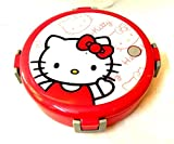 K&M World Kids Stainless Steel Lunch Box Hellokitty /Curry Box/Spoon/Oval Shape - Pink