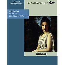 Multatuli (Multatuli.Briefe 1) (German Edition)