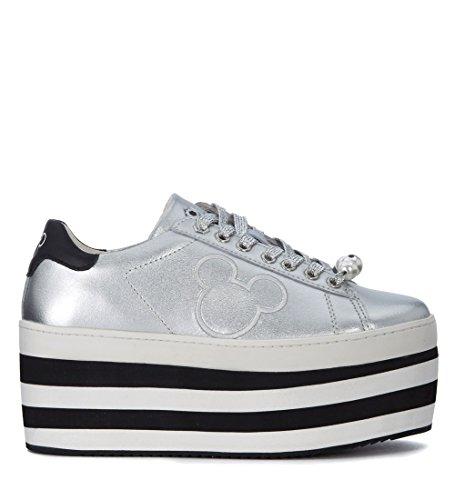 MoA - Master of Arts Sneaker Flatform Argento - 39