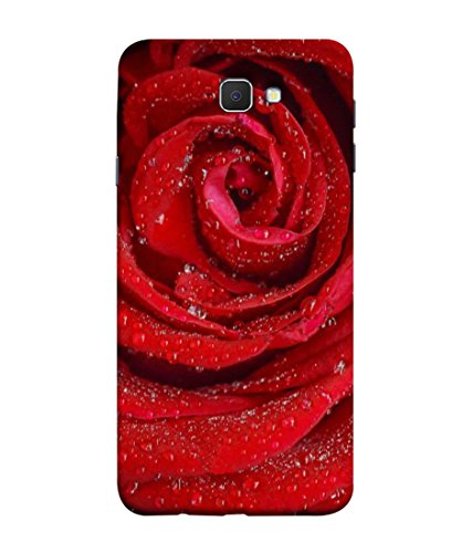 PrintVisa Designer Back Case Cover for Samsung Galaxy J7 Prime (2016) (Romantic Valentine Beauty Petal Occasion Gift)