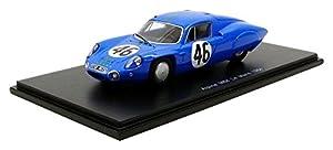 Spark-M64Le Mans 1964Alpine, s5680, Azul/Amarillo, en Miniatura (Escala 1/43