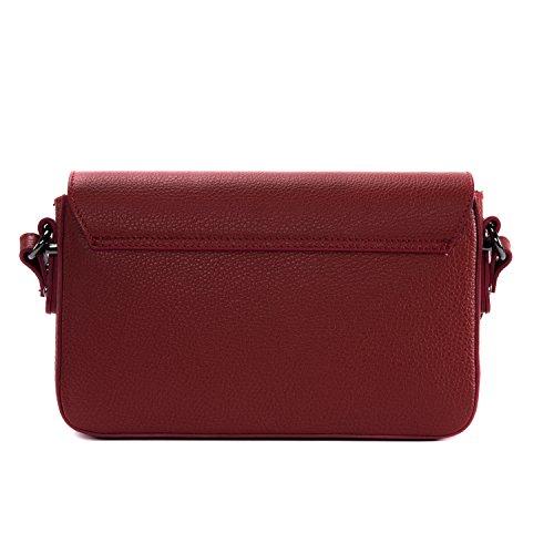 OH MY BAG Vogue, Borsa a spalla donna compact rosso chiaro