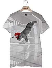 Batch1 Sport Relief Diving Bunny All Over Print Red Nose Mens Womens T-Shirt