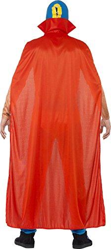 Imagen de smiffy's  disfraz de luchador mexicano, adultos, color rojo y azul 43667m  alternativa