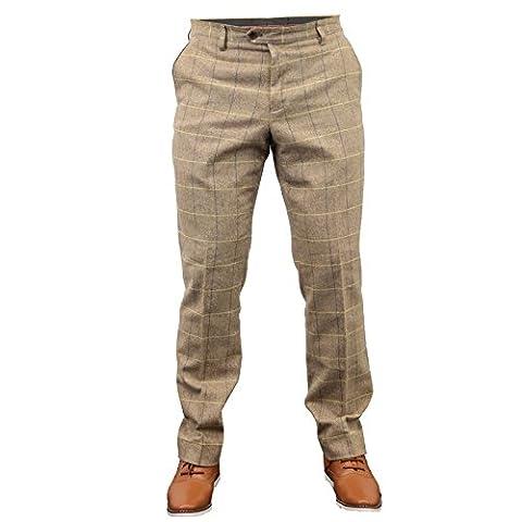 Marc Darcy - Pantalon - Homme Marron Oak
