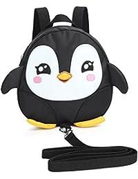 Zicac Mochila Linda de Forma de Pingüino con Correa de Arnés de Seguridad de Caminar para Niño Bebé Infantiles