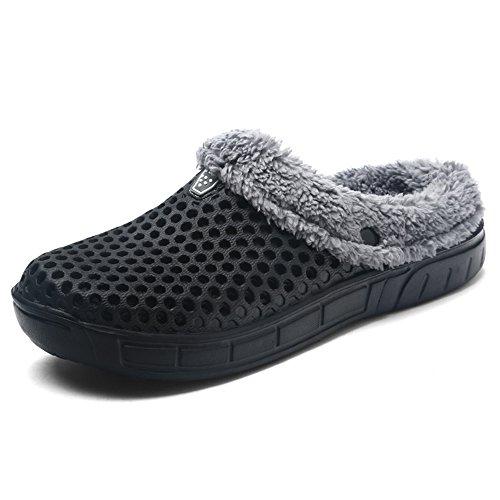 Jackshibo unisex adulto estate invernali pantofole confortevole caldo pantofole scarpe da casa