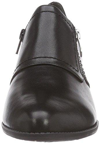 Tamaris - 24306, Scarpe chiuse Donna Nero (Nero (Black 001))