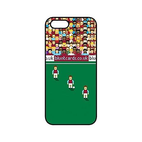 West Ham United F.C. 8Bit Pixel Imprimé Coque pour iPhone 5et 5S