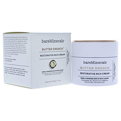 Bareminerals Butter Drench Restorative Rich Cream Enriched with Shea Butter by Bare Escentuals - Restorative Creme