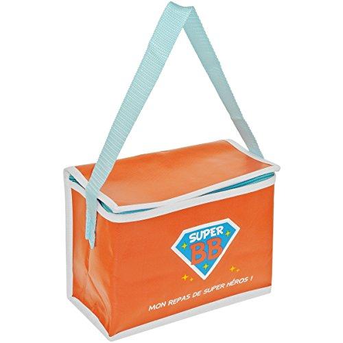Promobo - Lunch Bag Enfant Sac Repas Isotherme Super Bébé Repas De Super Héros Rose