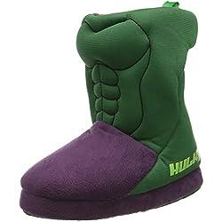 Cerdá Zapatillas De Casa Bota Avengers Hulk, Niños, (Verde C12), 23/24 EU