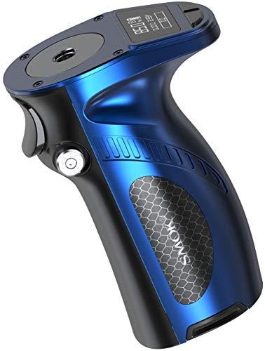 Mag Grip 100 Watt Akkuträger ohne 18650/20700/21700 Akkuzellen - von Smok - Farbe: prisma-blau-schwarz