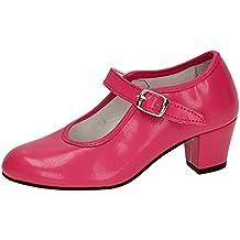 Made in Spain 15 Zapato DE SEVILLANAS Niña Zapatos Tacón