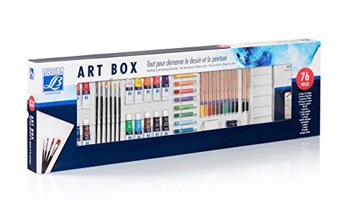 Lefranc & Bourgeois Set Art Box, Todo para Empezar a Dibujar y Pintar