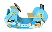 Bebe Style Blue Pirate Schaukelpferd Schiff-Wippe Schaukelspielzeug