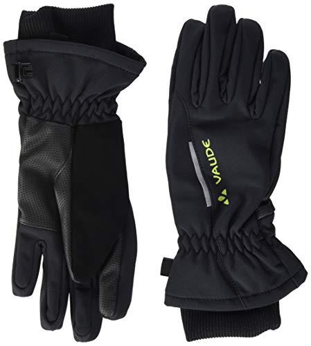 VAUDE Kinder Handschuhe Softshell Gloves, schwarz, 3, 05986