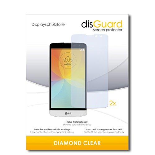 2 x disGuard® Bildschirmschutzfolie LG L Bello Schutzfolie Folie