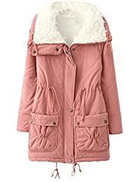 Zhuhaitf Outdoor Warm Cotton Thicken Workers Zip Jackets Pocket Bequem Ladies Coats para Mujer Winter