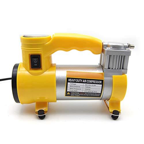 FAINT Pompa di Aria per Auto con Pompa di Design Leggera Pompa di Illuminazione A LED Luce Pompa Antivibrazione per Pompa del Piede