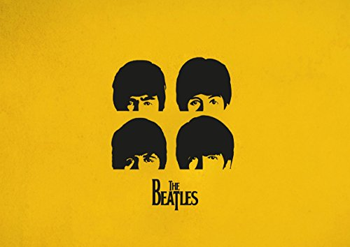 ula bear Beatles 31 laminiertes Poster A3 Foto George Harrison, Ringo Starr, John Lennon, Paul McCartney, Rock, Metal, Album, Band, Musik, Unikat, Cover, Tod, Metall