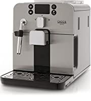 Gaggia RI9305/11 Brera Bean to Cup Coffee Machine, 1400 W, 15 Bar, Black/Silver